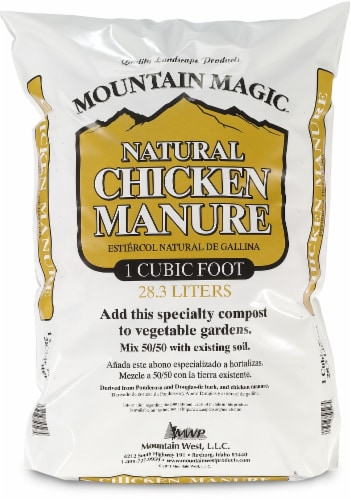 Mountain West Products Mountain Magic Chicken Manure Compost Blend Perspective: front