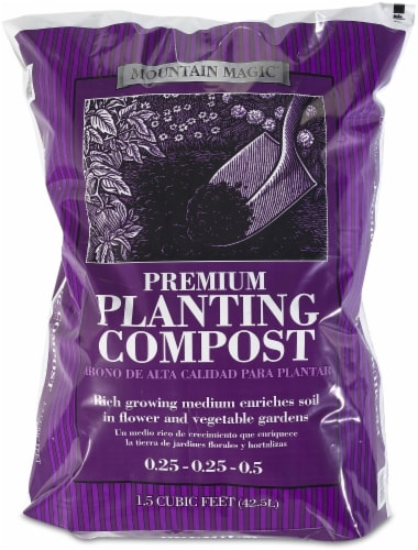 Mountain West Products Mountain Magic Premium Planting Compost Perspective: front