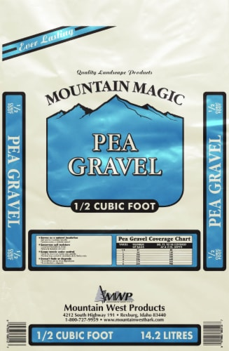 Mountain magic Pea Gravel Perspective: front
