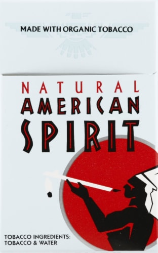 American Spirit Natural Cigarettes Perspective: front