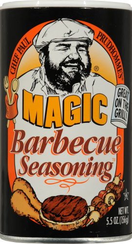Chef Paul Prudhomme's Magic Barbecue Seasoning Perspective: front