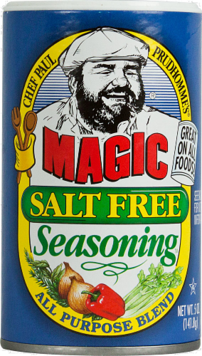 Chef Paul Prudhomme's Magic Salt Free Ssng Perspective: front