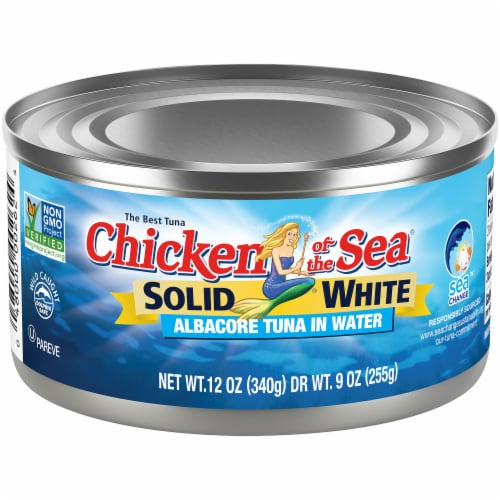 Chicken of the Sea Solid White Albacore Tuna in Water Perspective: front
