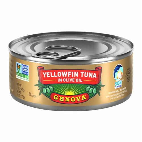 Genova Yellowfin Tuna in Olive Oil Perspective: front
