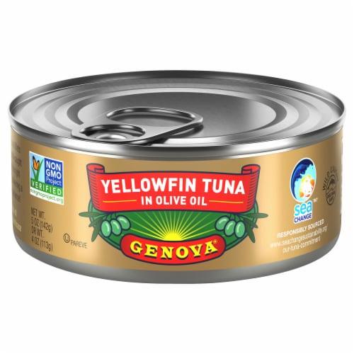Genova Tonno Tuna in Olive Oil Perspective: front