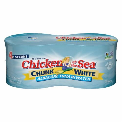 Chicken of the Sea Chunk White Albacore Tuna Perspective: front