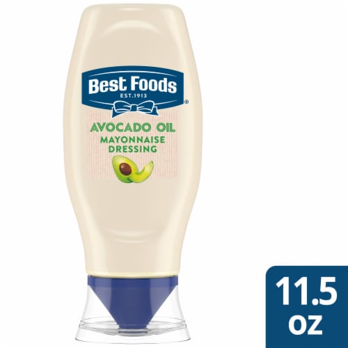 Best Foods Avocado Oil & Hint of Lime Mayonnaise Dressing Perspective: front