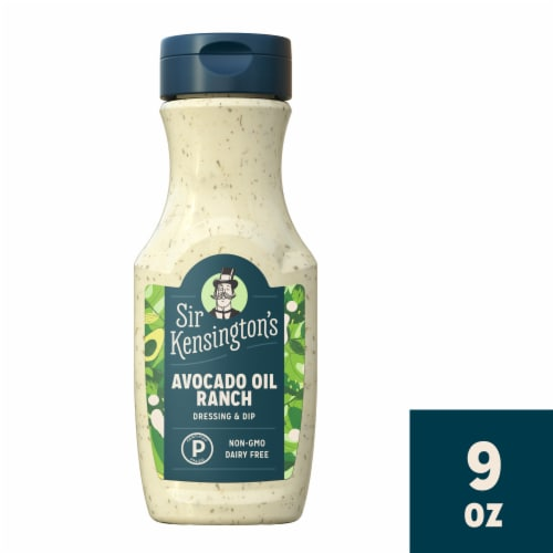Sir Kensington's Avocado Lime Ranch Dressing Perspective: front