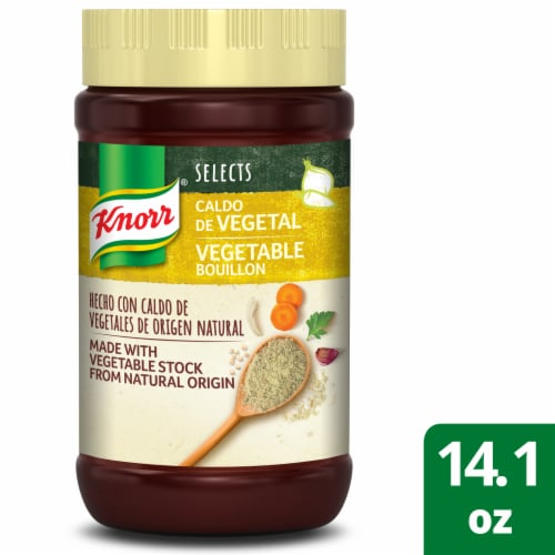Knorr Selects Granulated Vegetable Bouillon Perspective: front