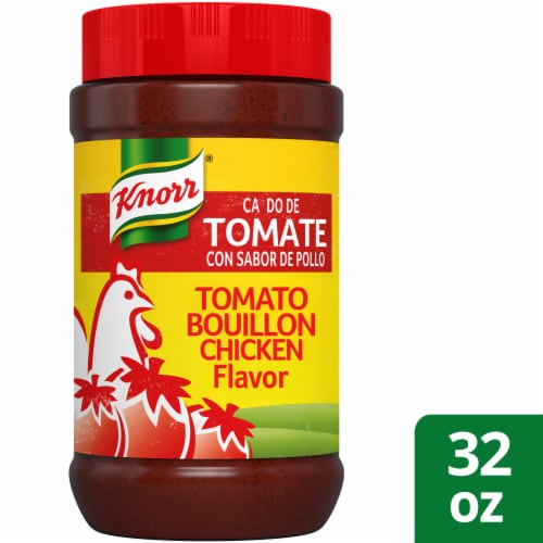 Knorr Tomato Granulated Bouillon with Chicken Flavor Perspective: front