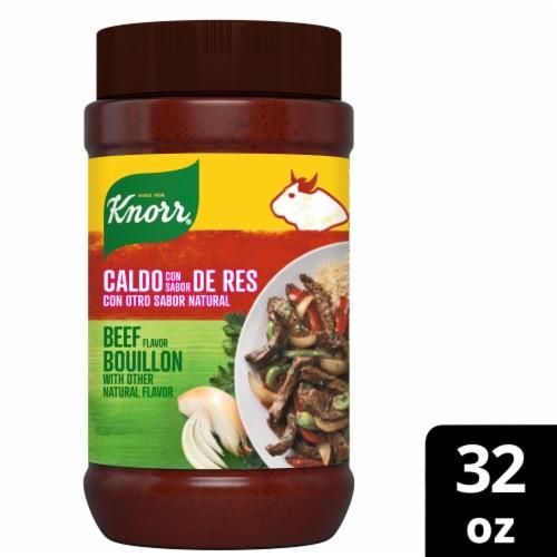 Knorr Caldo Con Sabor de Res Beef Flavor Bouillon Perspective: front