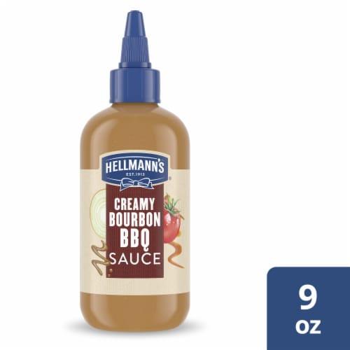 Hellmann's Bourbon BBQ Sauce Perspective: front