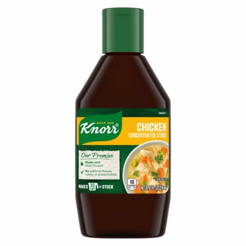 Knorr Chicken Concentrated Stock Perspective: front