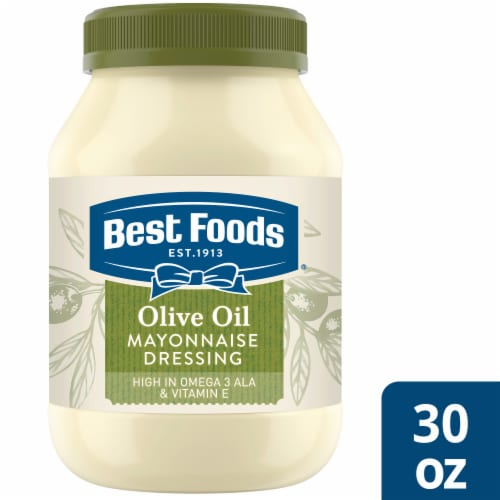 Best Foods Olive Oil Mayonnaise Dressing Perspective: front