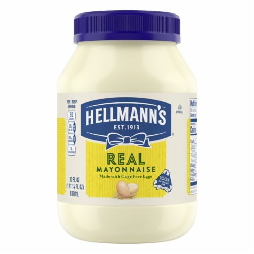 Hellmann's Real Mayonnaise Perspective: front