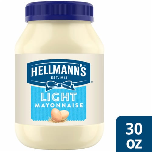 Hellmann's Light Mayonnaise Perspective: front