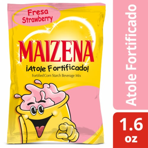 Maizena Strawberry Beverage Mix Perspective: front