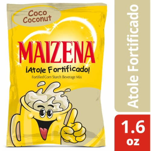 Maizena Fortified Corn Starch Beverage Mix Perspective: front