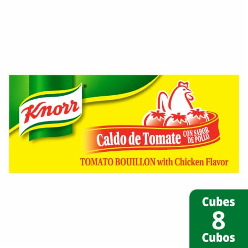 Knorr Tomato Bouillon with Chicken Flavor Perspective: front