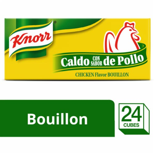Knorr Chicken Bouillon Cubes Perspective: front