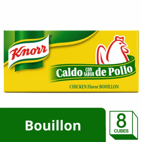 Knorr Chicken Flavor Bouillon Cubes Perspective: front