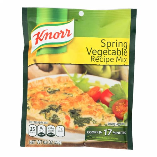 Knorr Spring Vegetable Recipe Dry Mix Perspective: front