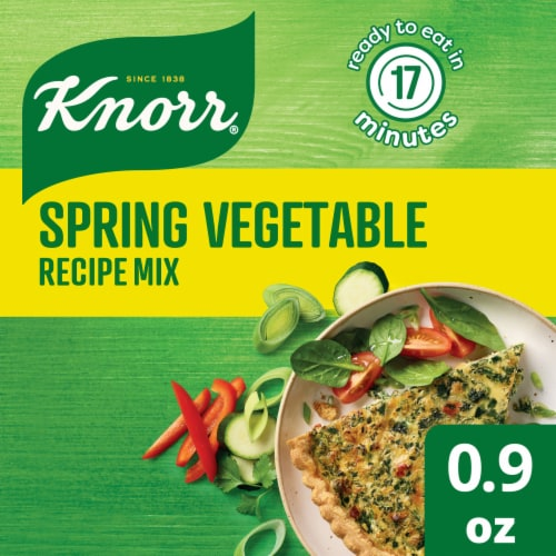 Knorr Spring Vegetable Recipe Mix Perspective: front