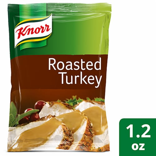 Knorr Roasted Turkey Flavored Gravy Mix Perspective: front