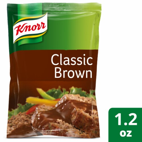 Knorr Classic Brown Gravy Mix Perspective: front