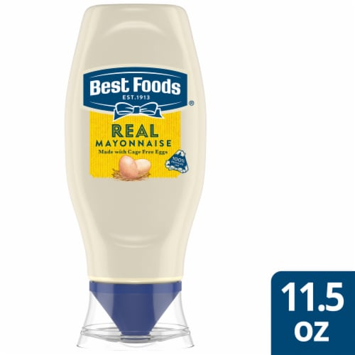 Best Foods Real Mayonnaise Squeeze Bottle Perspective: front