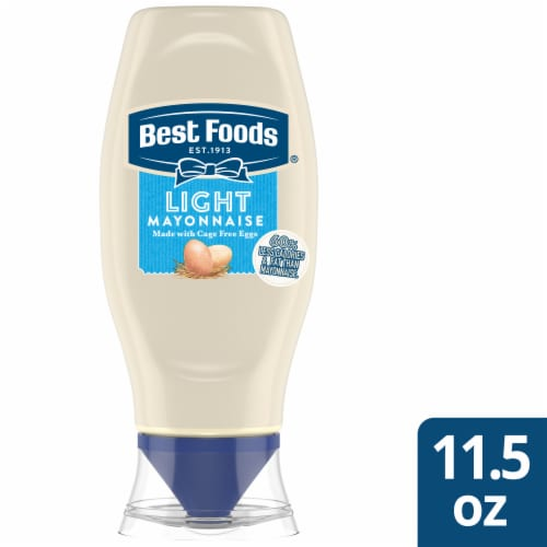 Best Foods Light Mayonnaise Squeeze Bottle Perspective: front