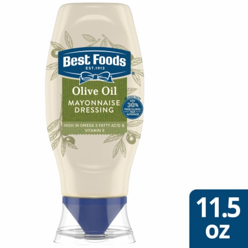 Best Foods Mayonnaise with Olive Oil Squeeze Bottle Perspective: front