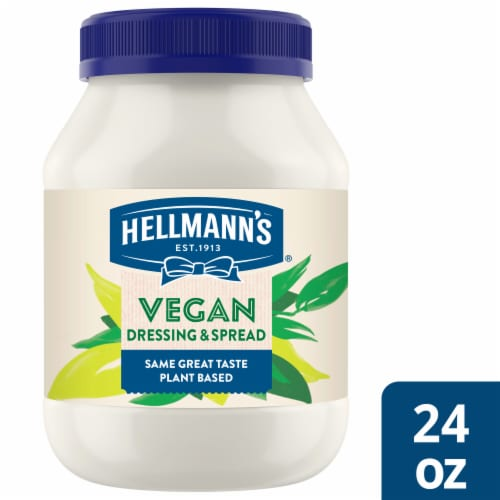Hellmann's Vegan Dressing & Sandwich Spread Perspective: front