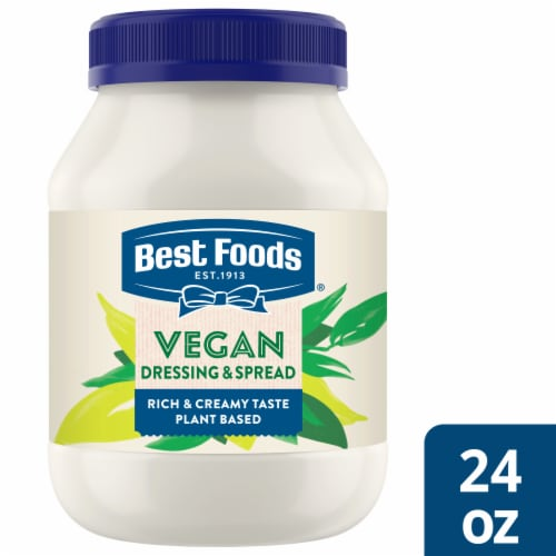 Best Foods Vegan Mayonnaise Dressing Spread Perspective: front