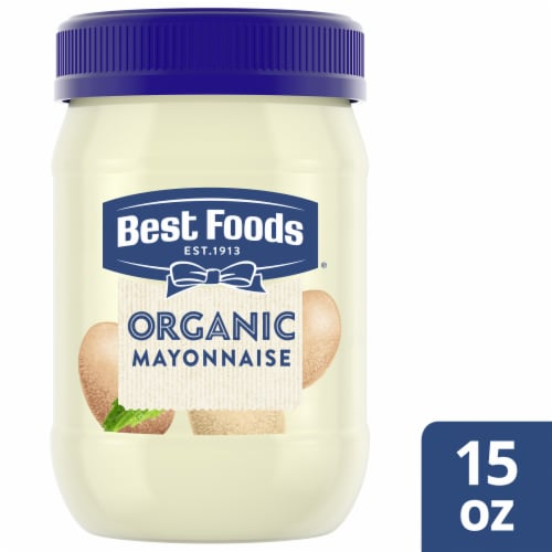 Best Foods Organic Mayonnaise Perspective: front