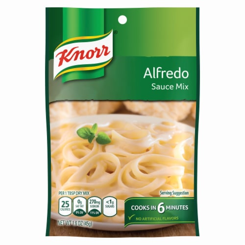 Knorr Alfredo Sauce Mix Perspective: front