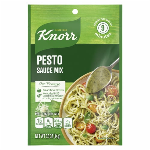 Knorr® Pesto Sauce Mix Perspective: front