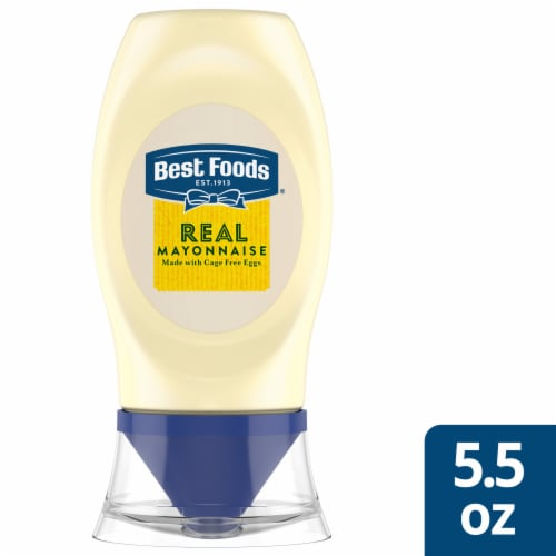 Best Foods Real Mayonnoise Spread Squeeze Bottle Perspective: front