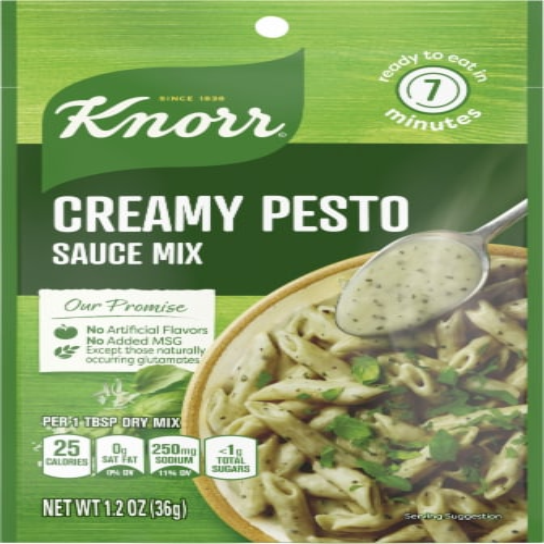 Knorr Creamy Pesto Sauce Mix 1 2 Oz Ralphs