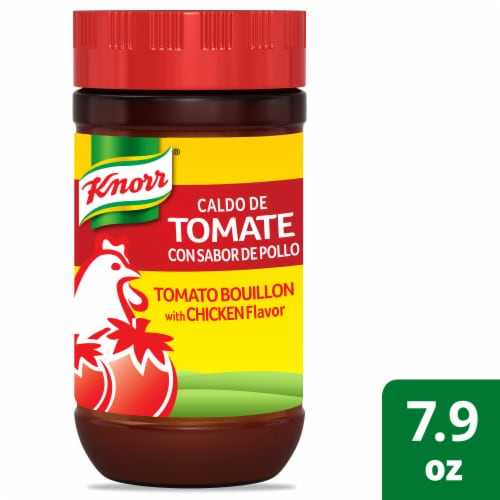 Knorr Tomato with Chicken Flavor Bouillon Perspective: front