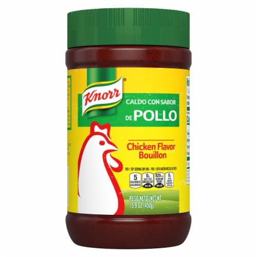 Knorr Chicken Flavor Bouillon Perspective: front