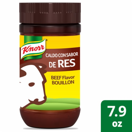 Knorr Beef Flavor Boullion Perspective: front