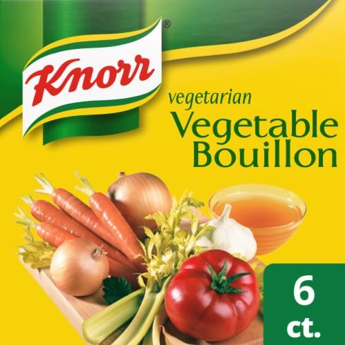 Knorr Vegetarian Vegetable Bouillon Cubes Perspective: front