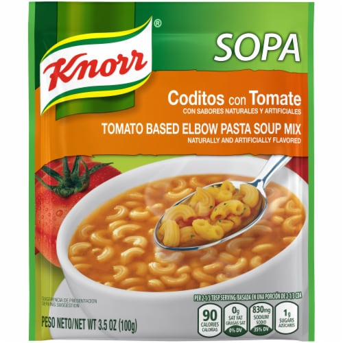 Knorr Tomato Based Elbow Pasta Soup Mix Perspective: front