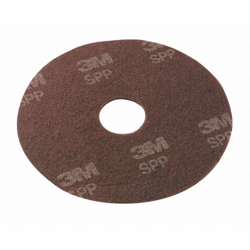 Scotch-Brite Surface Preparation Pad,14In,Maroon,PK10  SPP14 Perspective: front