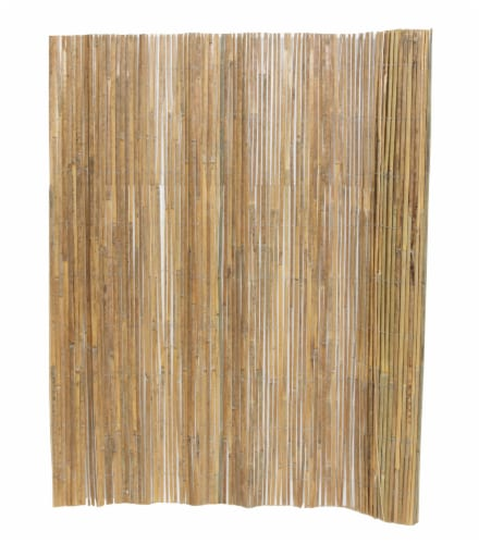 Lewis Hyman GardenPath Fence-in-a-Bag Bamboo Fencing Perspective: front