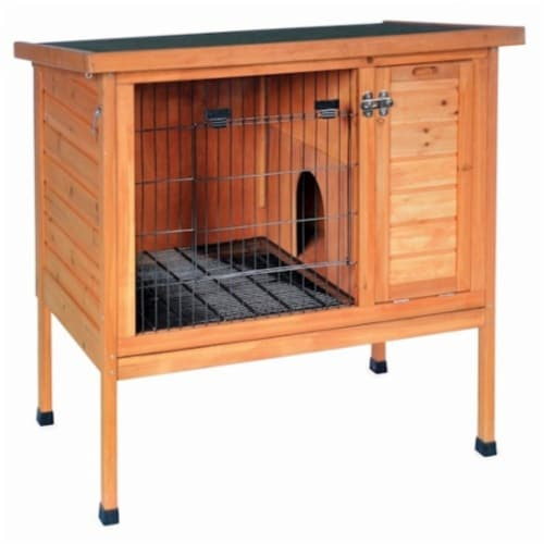 Small Rabbit Hutch Perspective: front