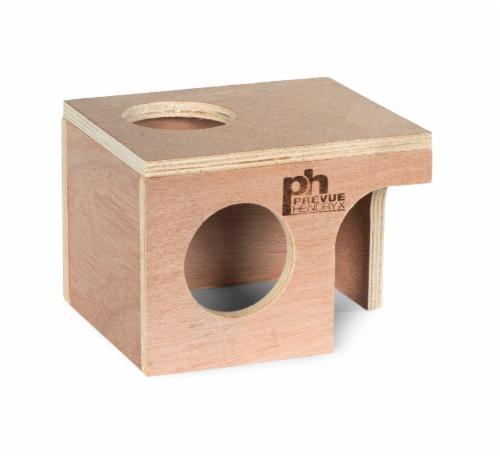 Prevue Hamster Gerbil Hut Perspective: front