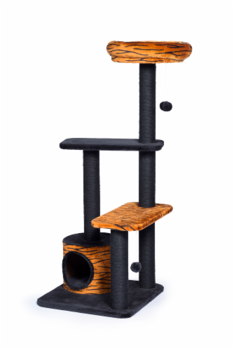 Prevue Tiger Tower Plush Furniture Perspective: front