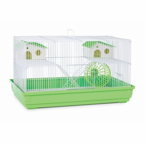 Deluxe Hamster & Gerbil Cage - Bordeaux Red Perspective: front